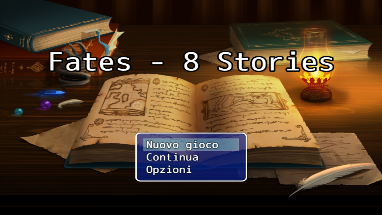 Fates - 8 stories; GDR Fantasy prodotto da Horizon.