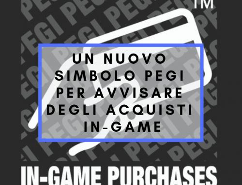 Un nuovo simbolo PEGI per avvisare degli acquisti in-game