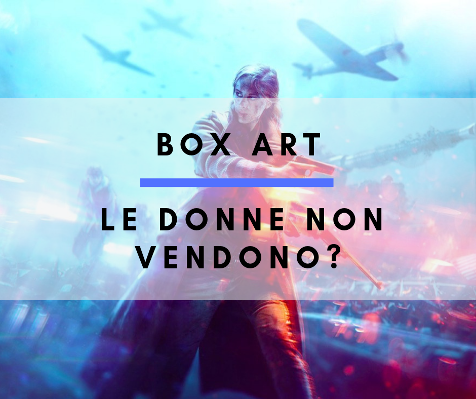 Box Art: le donne non vendono?