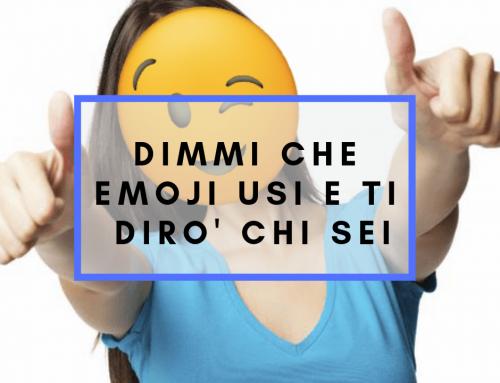 Dimmi che emoji usi e ti dirò chi sei