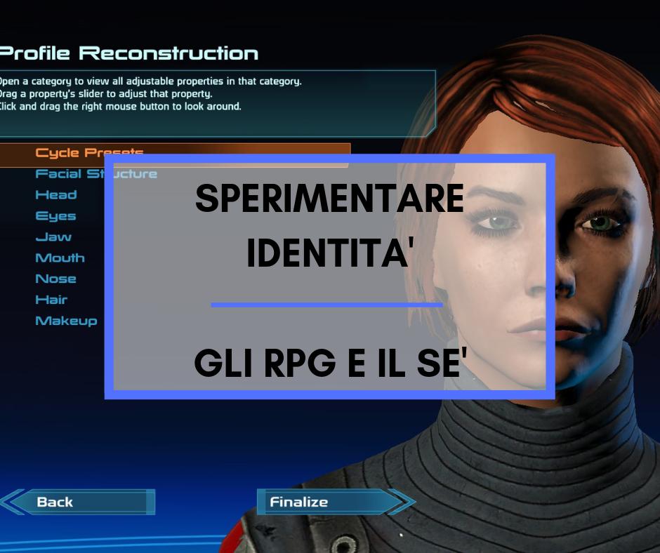 Sperimentare identità: gli RPG e il Sè