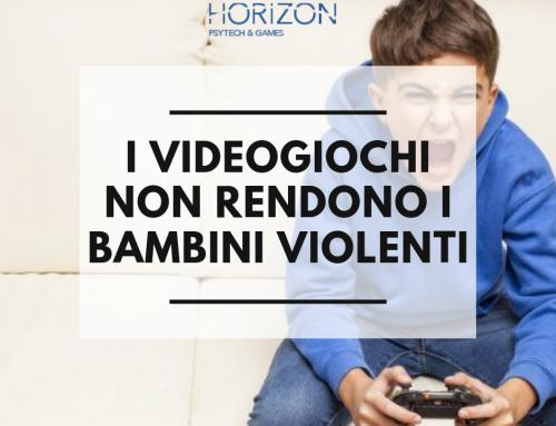 I VIDEOGIOCHI NON RENDONO I BAMBINI VIOLENTI!