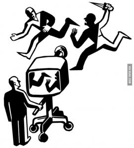 Riconoscere le Fake News: una famosa vignetta illustra il fenomeno del Framing.